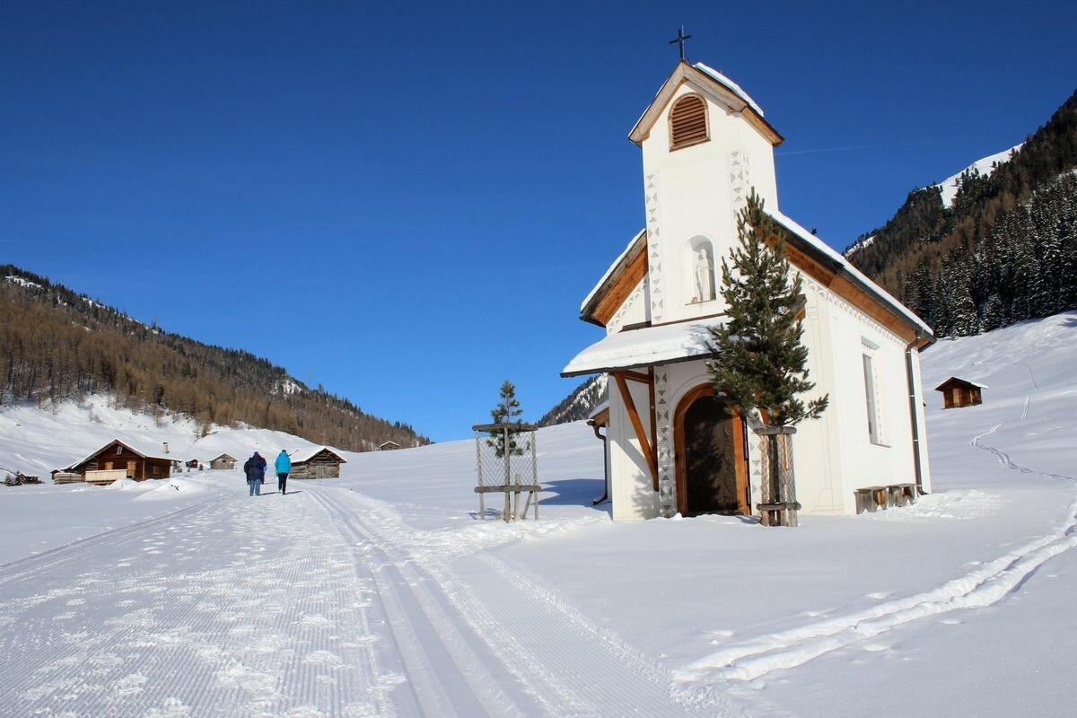 Kaunertal Schnee